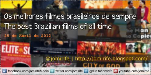 Blog: Os melhores filmes brasileiros de sempre