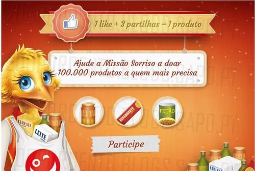 Ajude a doar 100.000 Produtos | CONTINENTE | Missão Sorriso
