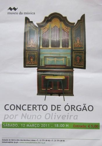 Órgão do Museu da Música - Lisboa