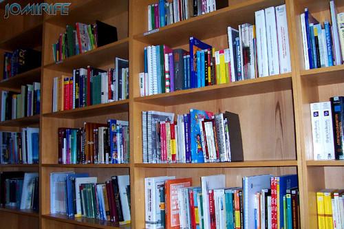 Biblioteca - Estantes de livros [EN] Library - Bookshelves