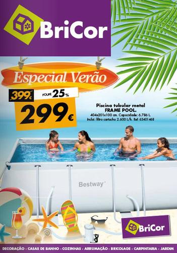 Folheto bricor novidades campanhas oportunidades for Bricor piscinas