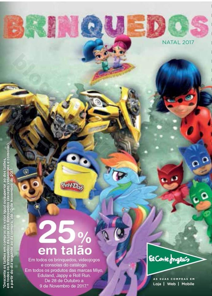 722848e05e83 Antevisão Folheto EL CORTE INGLÉS Brinquedos Natal - Blog 200% - Últimos  Folhetos, Antevisões, Promoções e Descontos