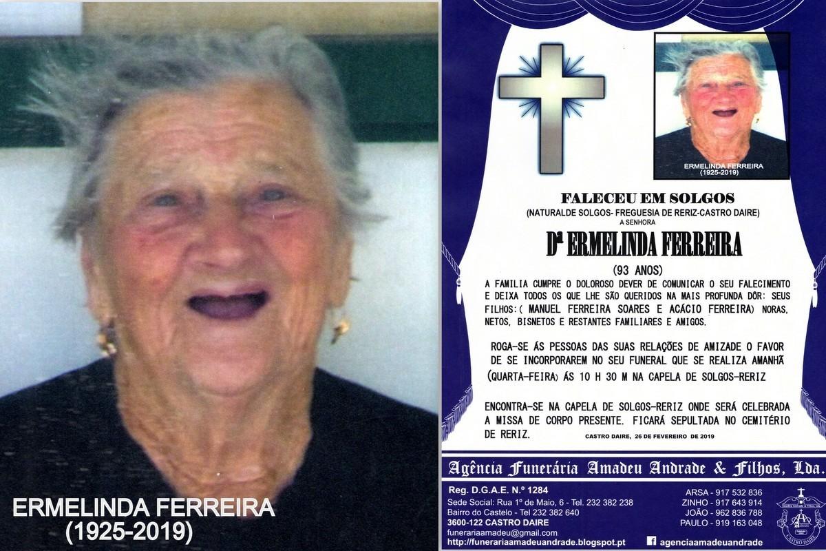 RIP-FOTO DE ERMELINDA FERREIRA-93 ANOS (SOLGOS-RER