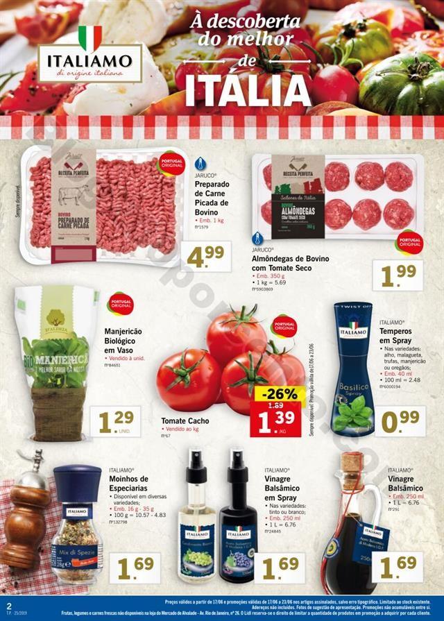 Antevisão Folheto LIDL Especial Itália promoçõ