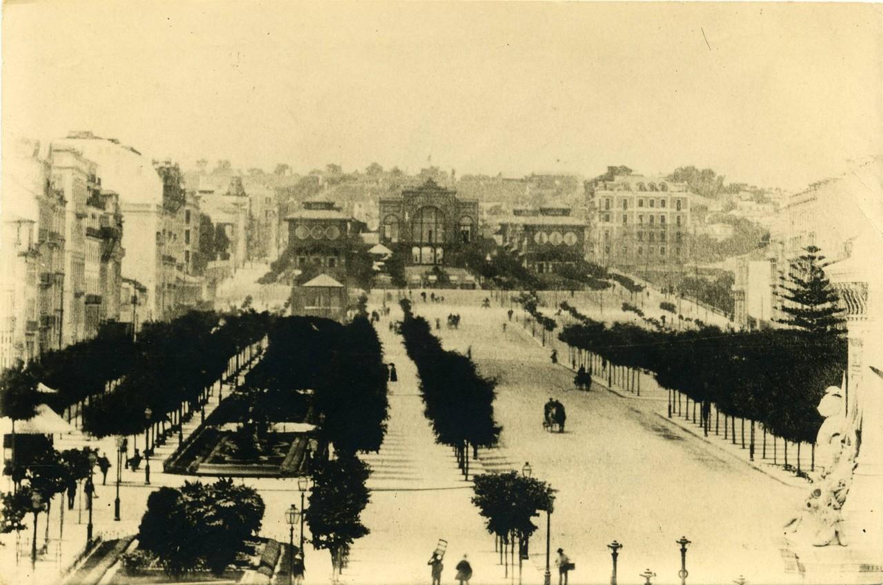 Exposição Industrial Portuguesa, 1888, foto do e