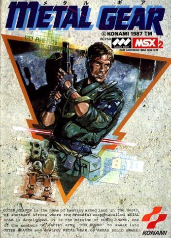 Capa de Metal Gear