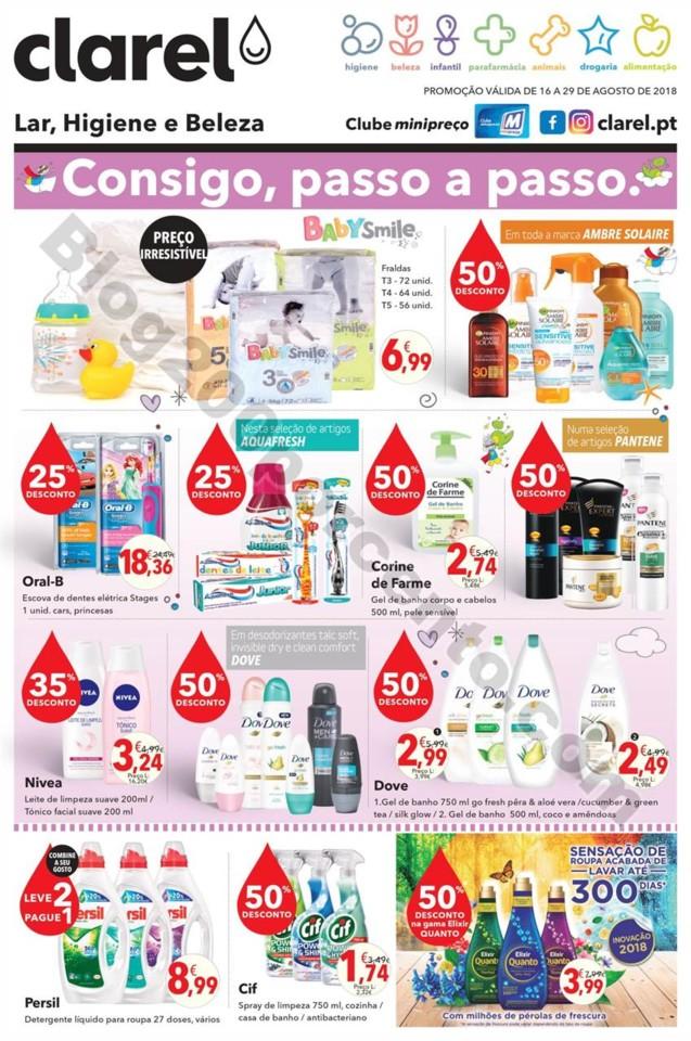 Antevisão Folheto CLAREL Promoções de 16 a 29 a