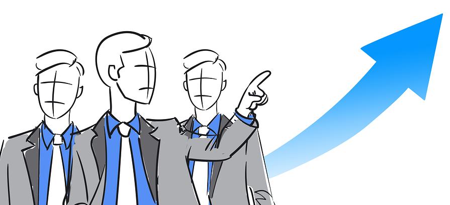 Empresários a  promover gente através do nome - Imagem Pixabay