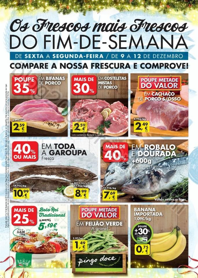 Antevisão Folheto PINGO DOCE Fim de semana de 9 a