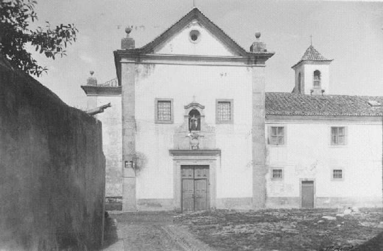 Convento de Santa Teresa de Jesus, 1945, foto de E