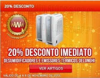 20% de desconto imediato   WORTEN   Emissores e desumificadores Delonghi, até 8 novembro