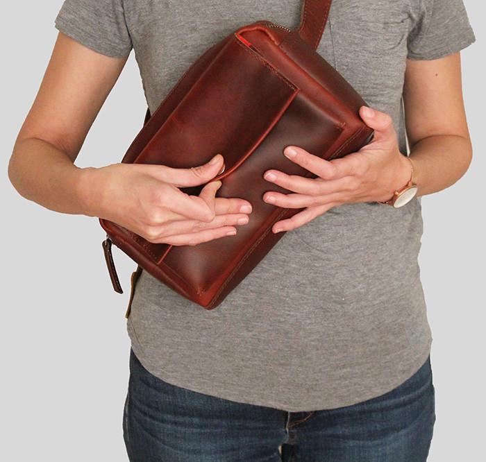 bolsa de cintura mulher