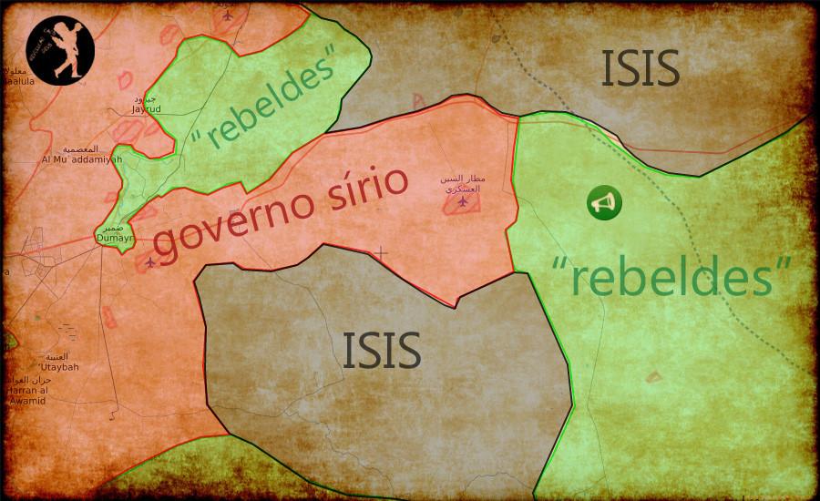 centro da Síria