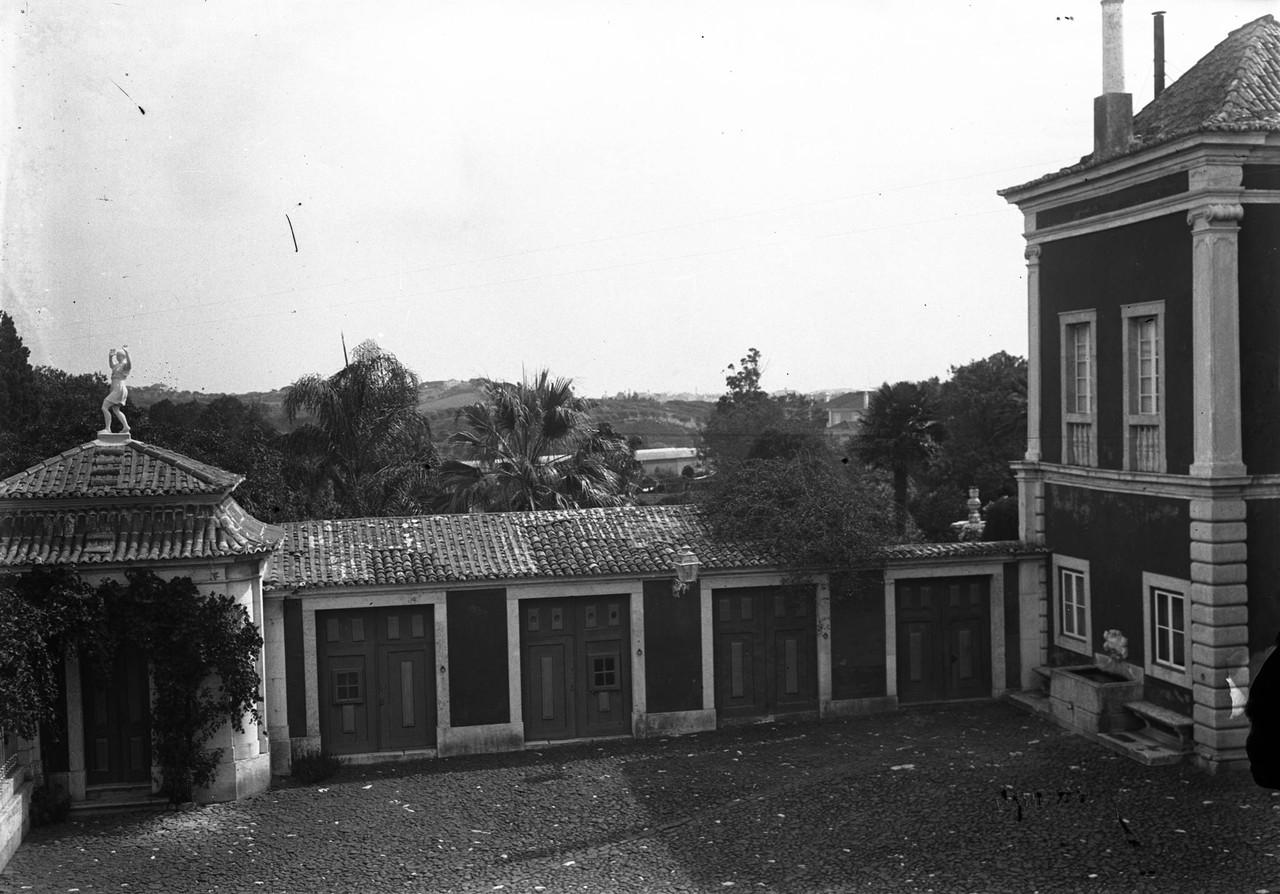 Palácio dos Marquêses de Fronteira pormenor das