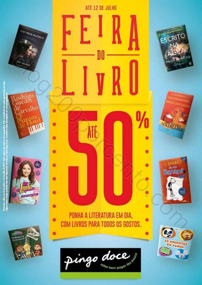 Antevisão Folheto PINGO DOCE Feira do Livro Promo