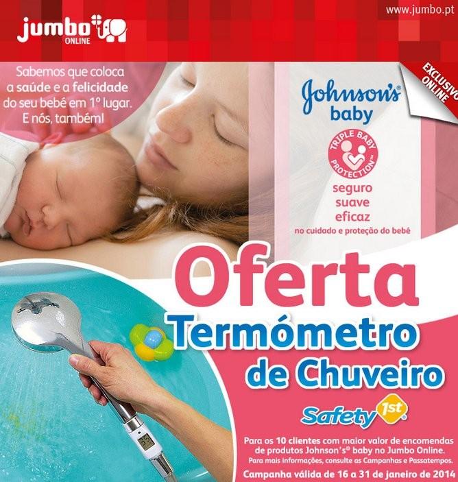Oferta | JUMBO | Johnson's Baby até 31 janeiro