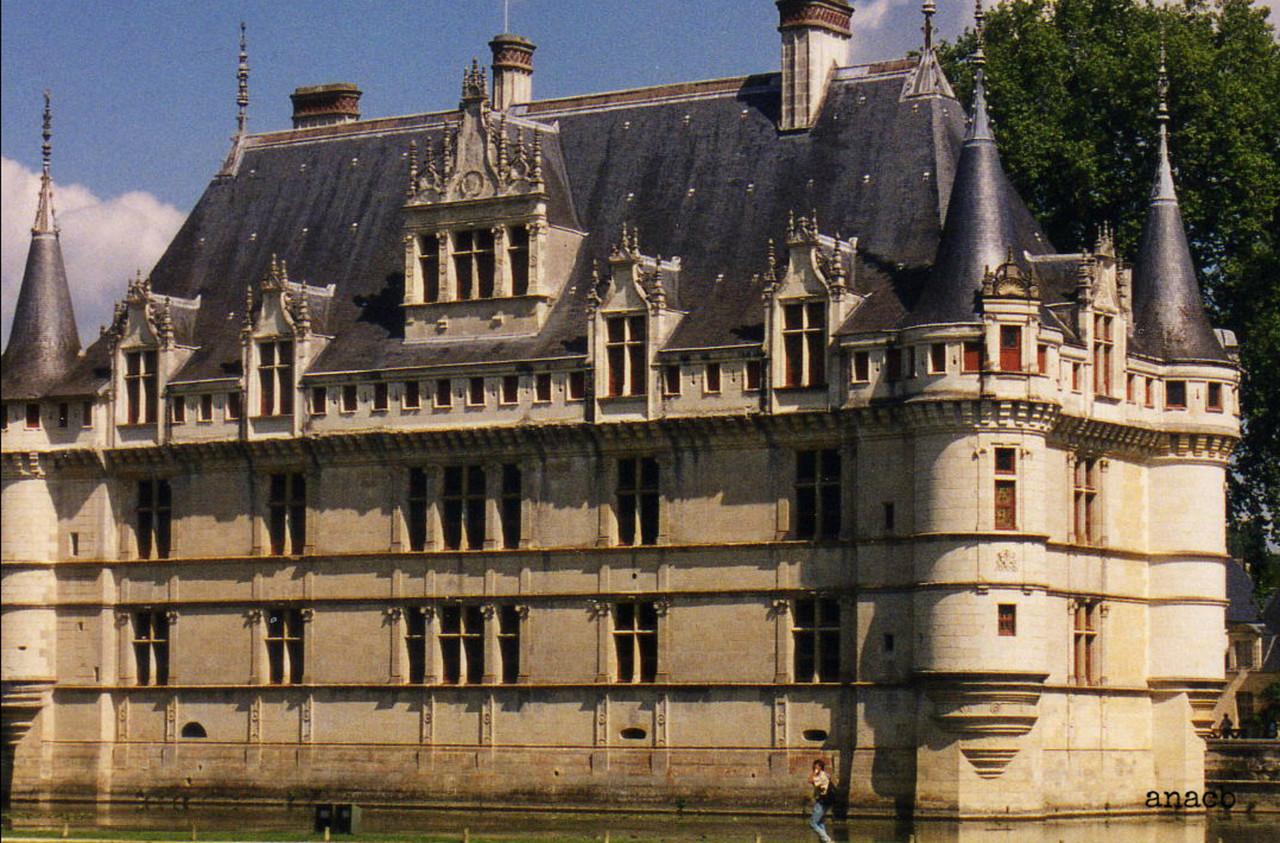 ao acaso #43 castelo de Azay-le-Rideau, no vale do