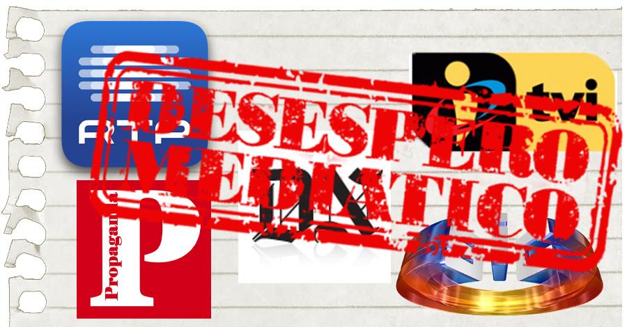 Desespero mediático 12 - Informação selectiva, desinformação agressiva, ocultação ostensiva