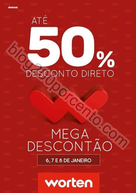 Antevisão Folheto WORTEN Mega Descontão promoç