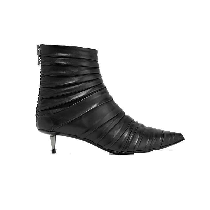 best-kitten-heels-tom-ford-ruched-leather-ankle-bo