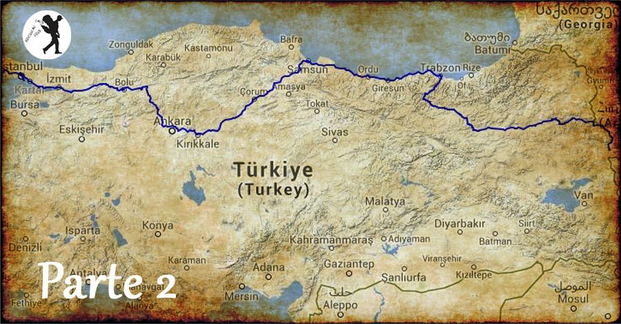 De Istambul a Doğubeyazıt em 3 dias - II