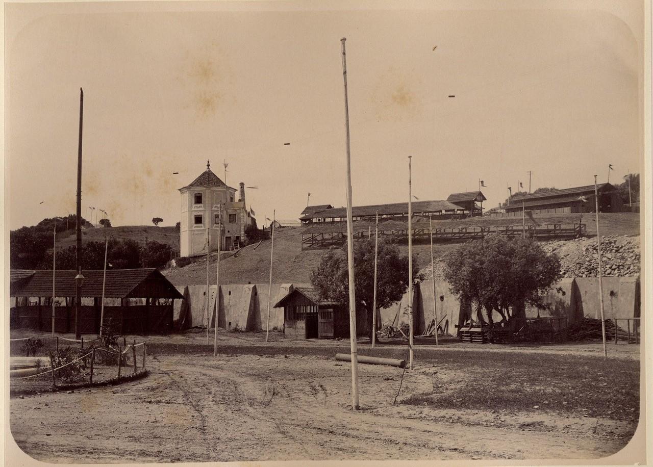 Casal da Torrinha, 1888, prova em albumina, de Aug