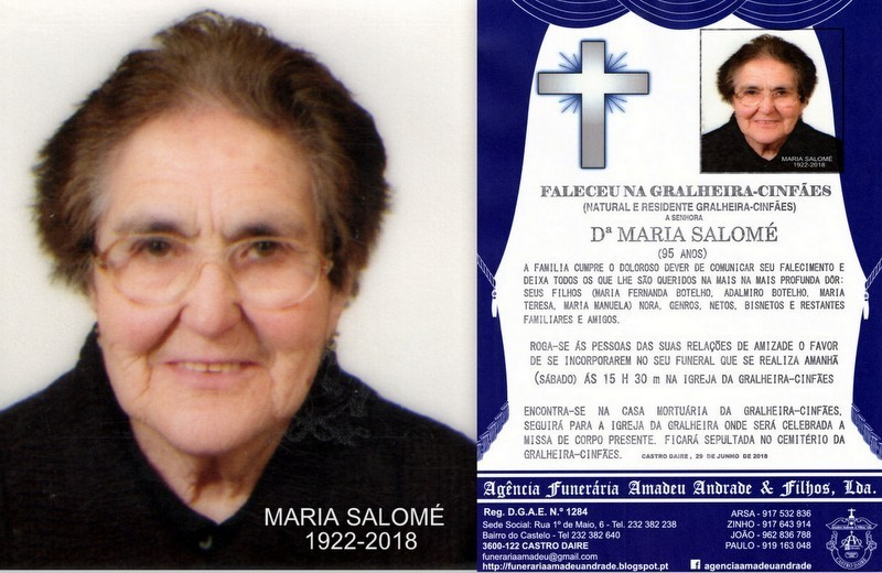 FOTO-RIP2-MARIA SALOMÉ  -95 ANOS (GRALHEIRA-CINF