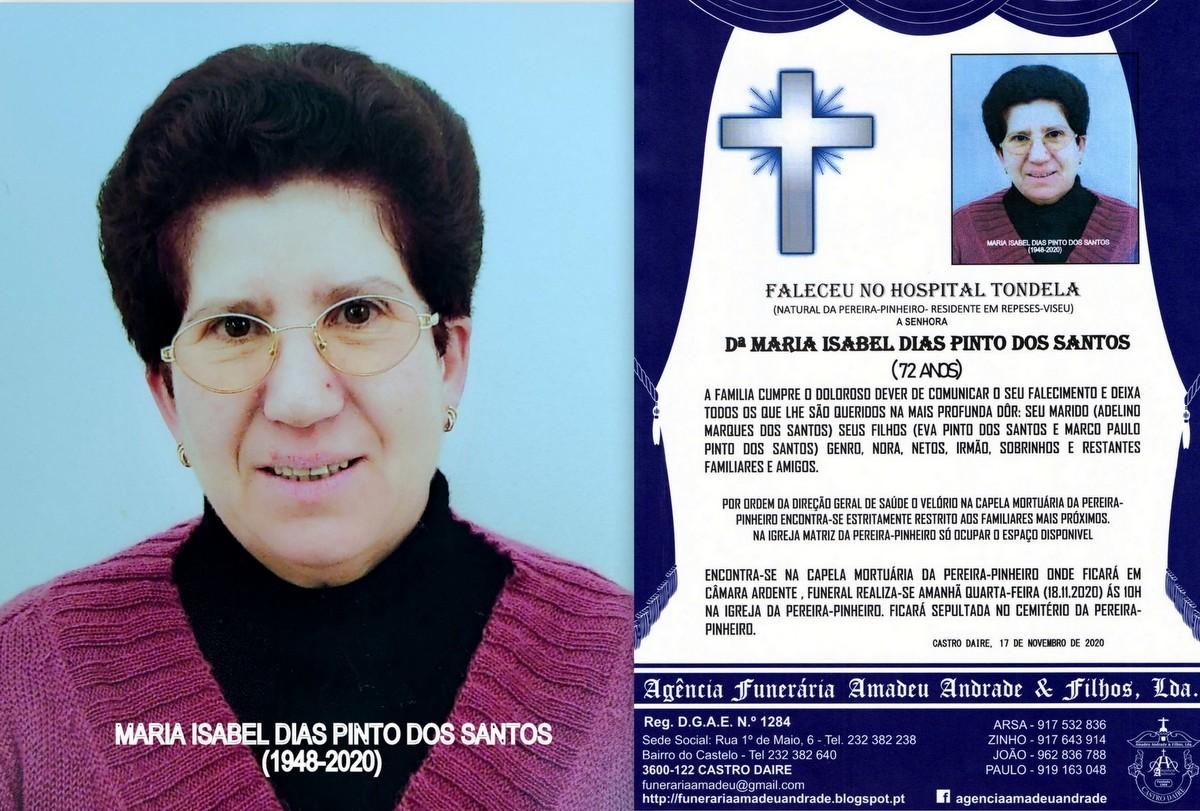 FOTO RIP  DE MARIA ISABEL DIAS PINTO DOS SANTOS-72