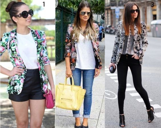 Blazer Florido – Look Primaveril a experimentar Blog de