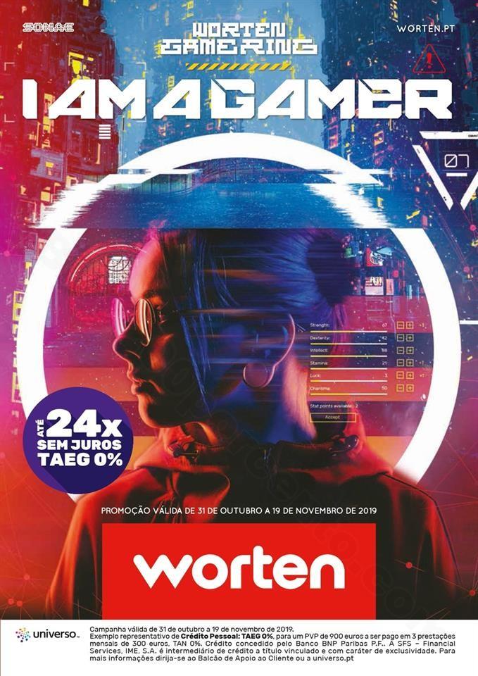Antevisão Folheto WORTEN Gamer Promoções até 1
