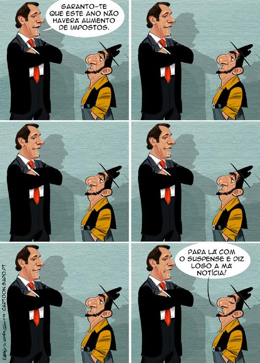 Cartoons - Aumento de Impostos