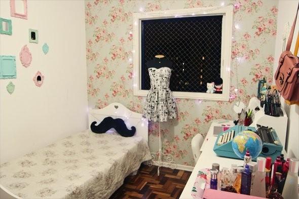 Decoração de quartos femininos  Chocolate quente com chantilly!