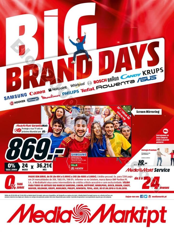 Antevisão Folheto MEDIA MARKT Big Brand Promoçõ