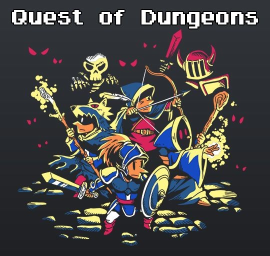 Logotipo Quest of Dungeons