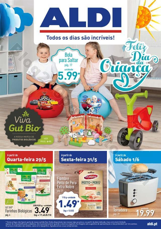 Antevisão Folheto ALDI Dia da Criança + Promoç