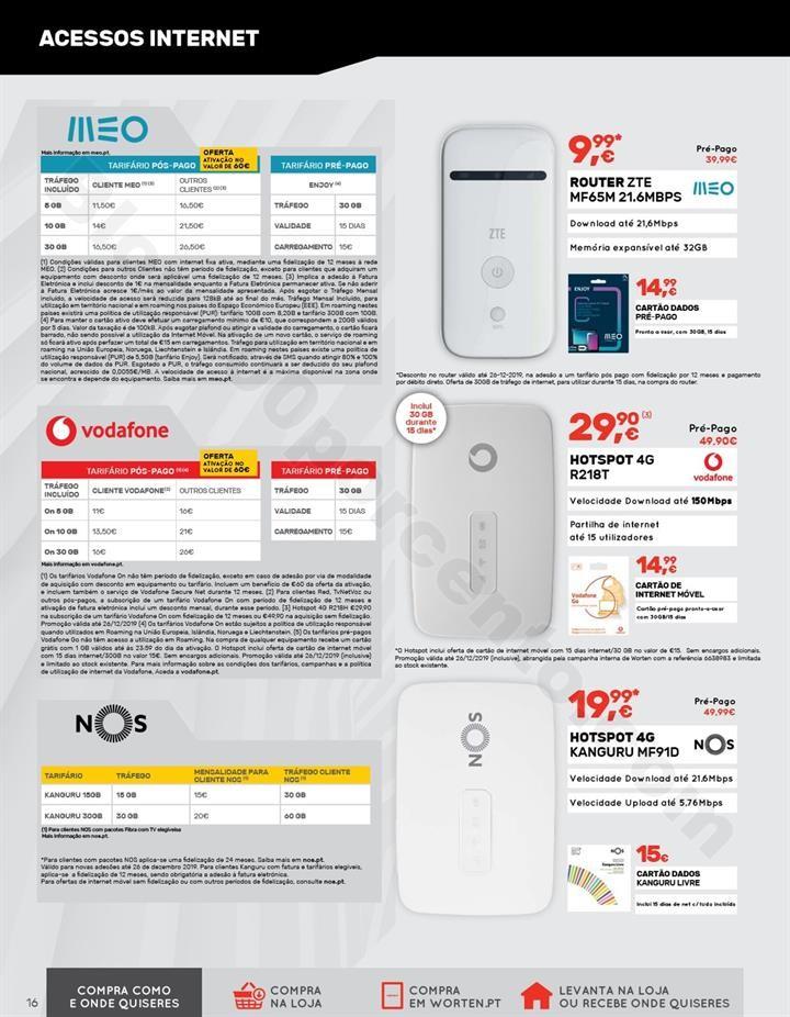 Antevisão Folheto WORTEN Mobile Promoções de 3