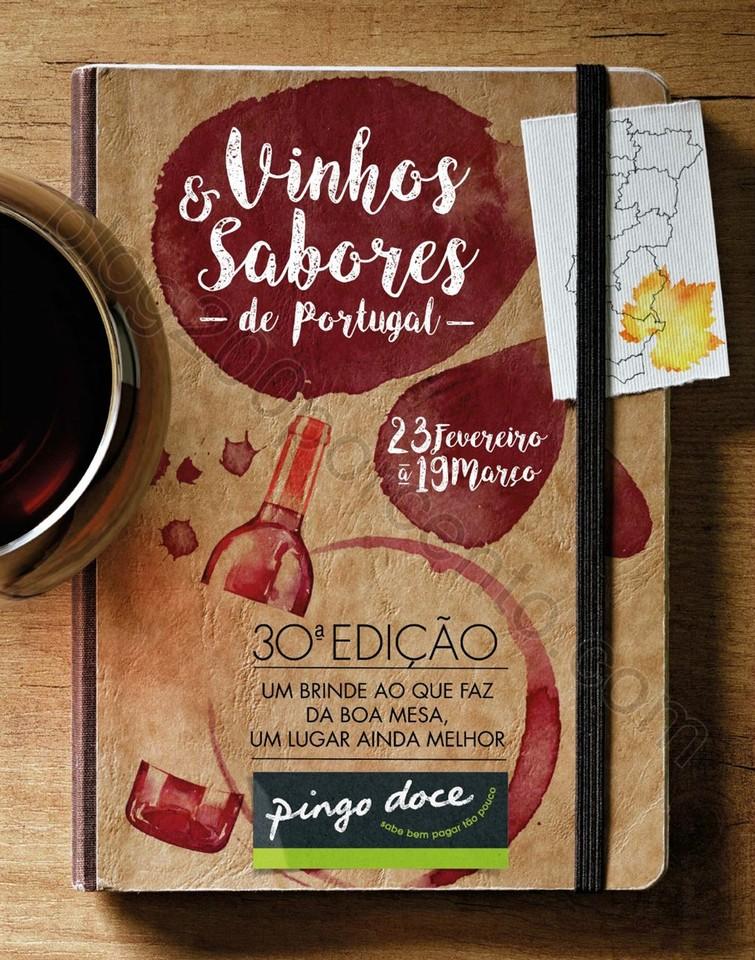 Novo Folheto PINGO DOCE Vinhos & Sabores promoçõ