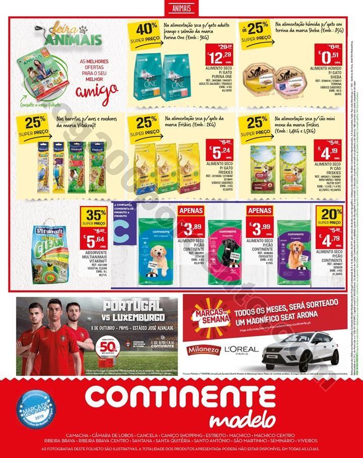 Antevisão Folheto CONTINENTE 8 a 14 outubro Madei
