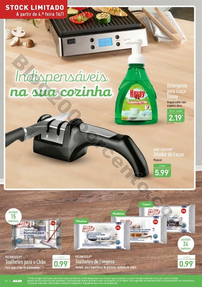 Antevisão Folheto ALDI Promoções a partir de 16