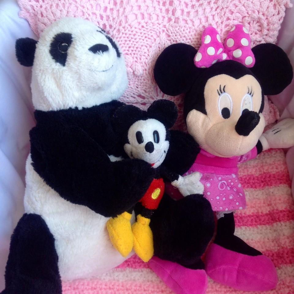 Panda Mickey e Minnie