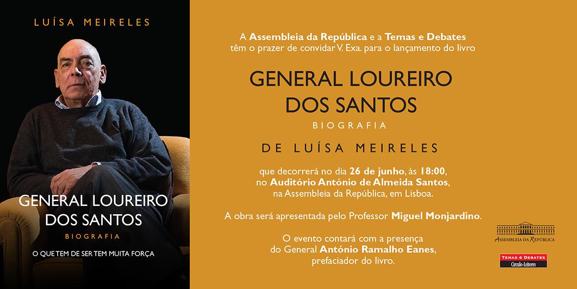 Convite Lancamento General Loureiro dos Santos - B