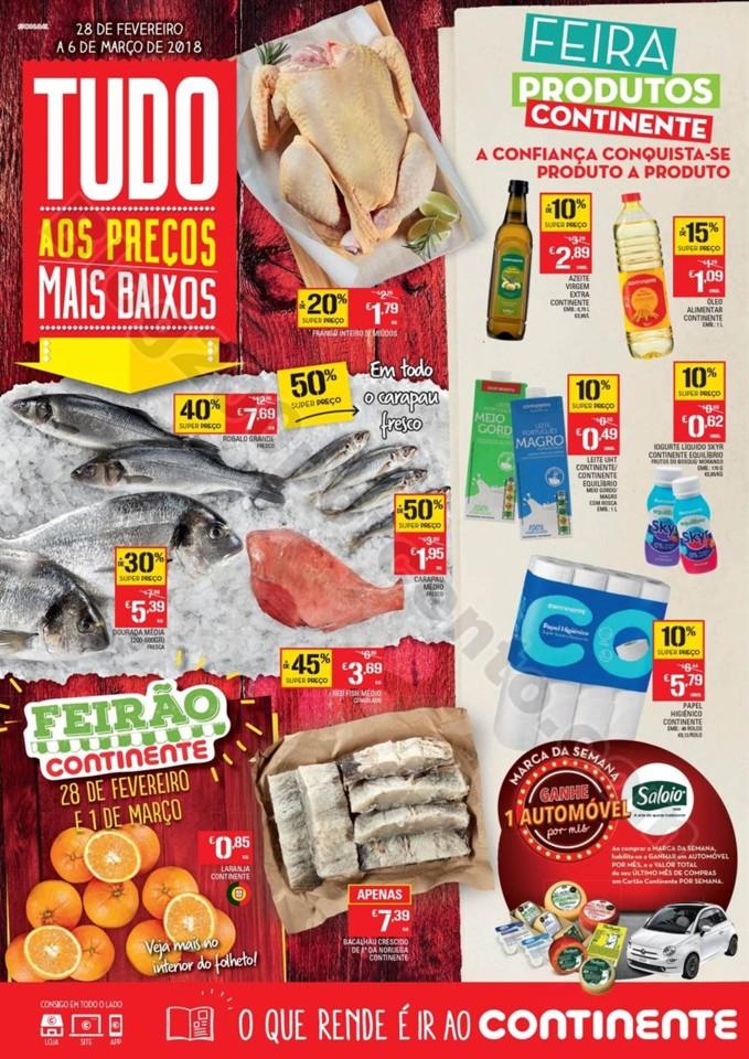 Antevisão Folheto CONTINENTE Maderia Promoções