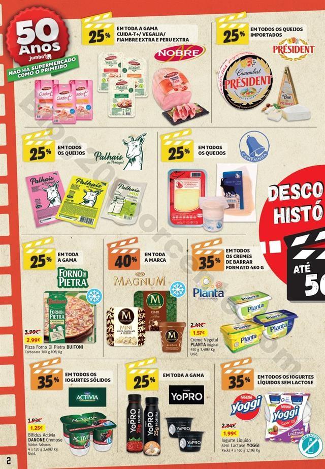 Antevisão Folheto JUMBO 50º Aniversário Promoç