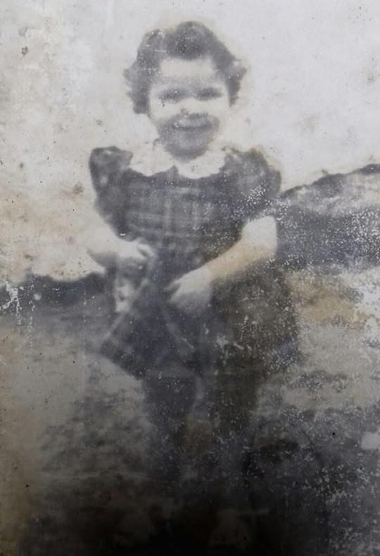 Rosa Silva com 1 ano