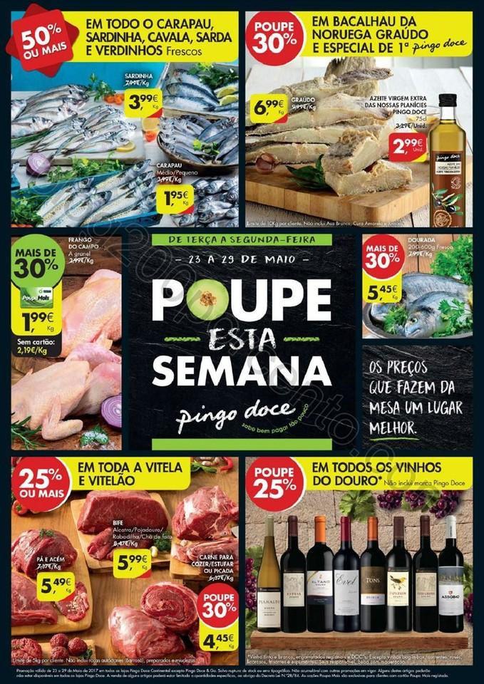 Antevisão Novo Folheto PINGO DOCE Promoções de