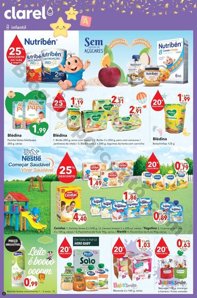 folheto promoções Clarel 27dez-9jan
