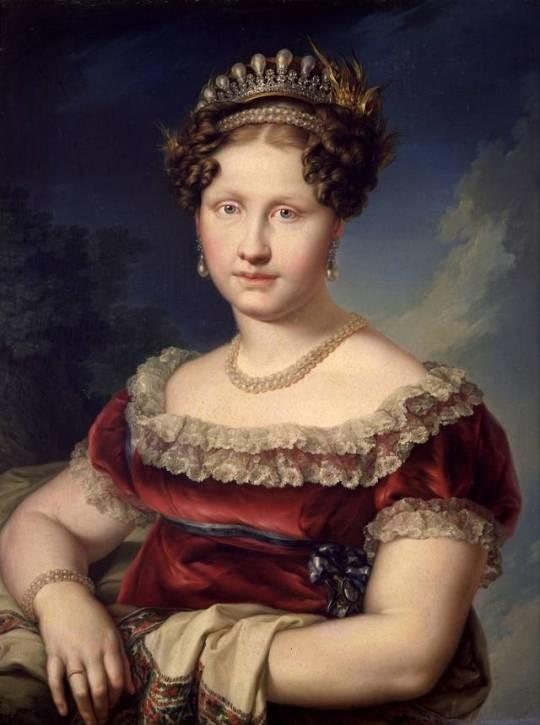 Infanta Luisa Carlota de Borbón por Vicente Lópe