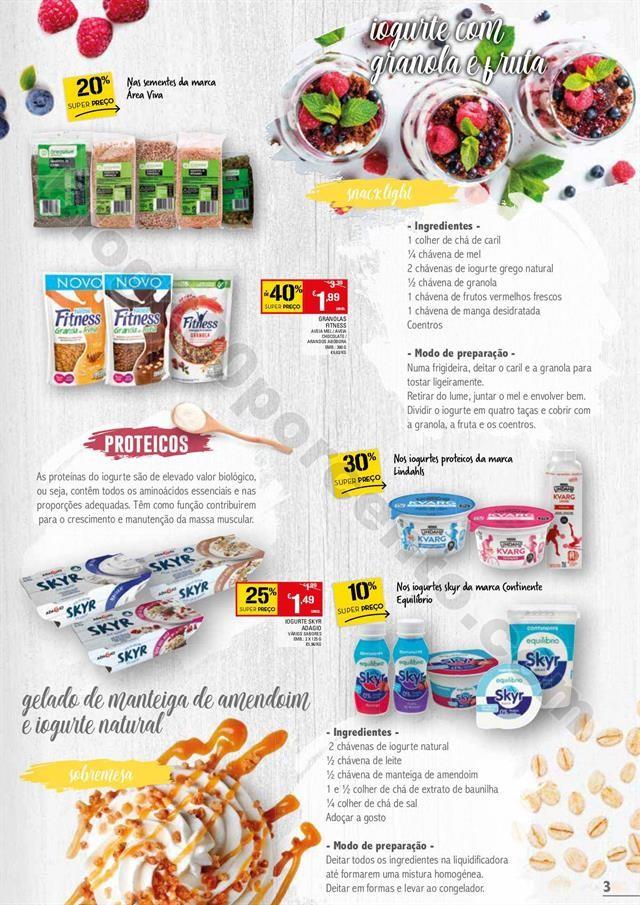 Antevisão Folheto CONTINENTE Especial Iogurtes Pr
