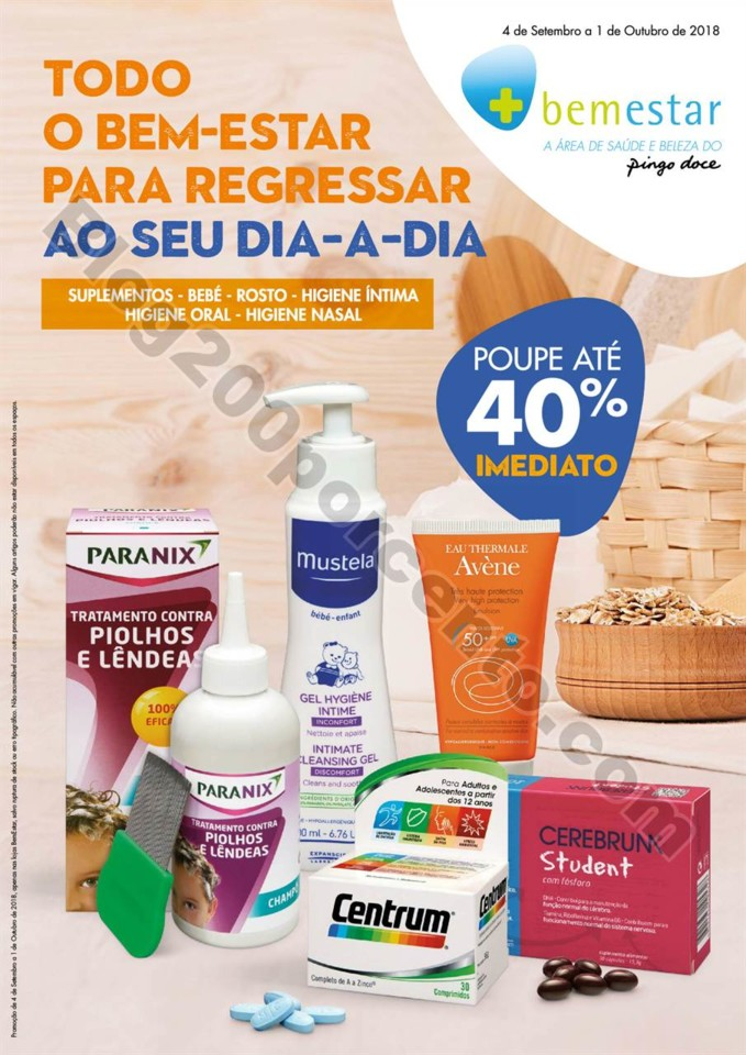 0 - Antevisão Folheto PINGO DOCE - BEMESTAR promo