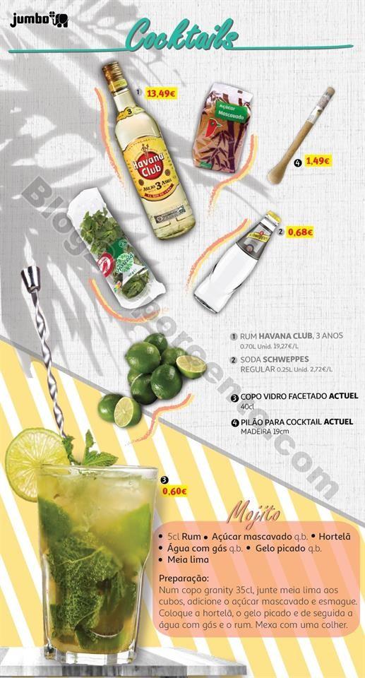 Antevisão Folheto JUMBO Especial Cocktails promo